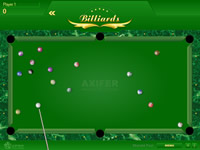 billard flash game